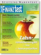 Titelseite Finanztest