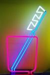 Neon Zahnbürste  (Heinz Kers Neon-Licht)
